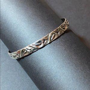 Vintage Danecraft Sterling Silver Bangle Bracelet